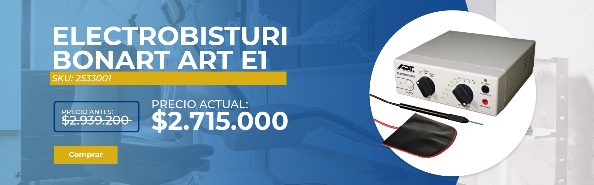 ELECTROBISTURI BONART ART E1